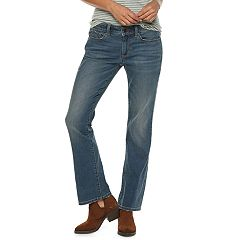 Petite SONOMA Goods for Life™ Curvy Mid-Rise Bootcut Jeans