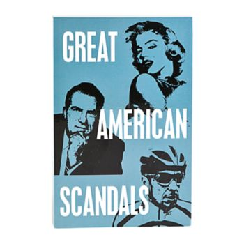 Great American Scandals Book by Publications International, Ltd.