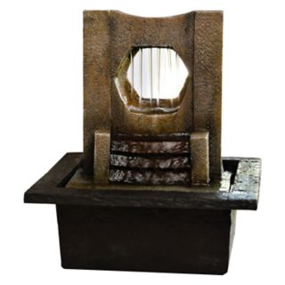 San Miguel Edgewater Tabletop Water Fountain Decor