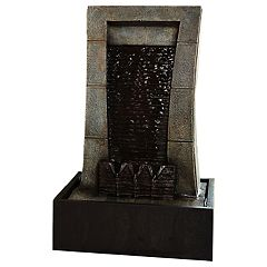 San Miguel Waterside Tabletop Water Fountain Decor