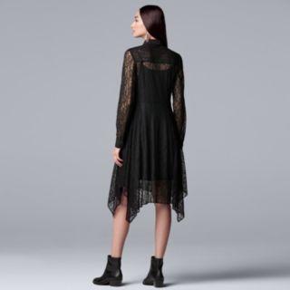 Women's Simply Vera Vera Wang Lace Shirtdress