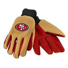 Adult San Francisco 49ers Utility Gloves