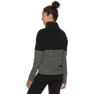 Juniors' SO® 1/2-Zip Fleece Sweatshirt