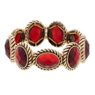 Dana Buchman Red Link Stretch Bracelet