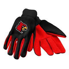 NCAA Louisville Cardinals Team Logo Utility Gloves