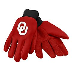 NCAA Oklahoma Sooners Team Logo Utility Gloves