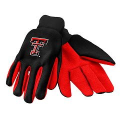 Adult Texas Tech Red Raiders Utility Gloves