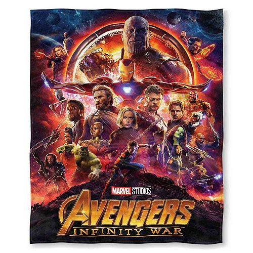 Marvel Avengers: Infinity War Throw