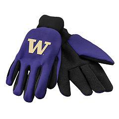 NCAA Washington Huskies Team Logo Utility Gloves