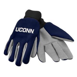 NCAA UConn Huskies Team Logo Utility Gloves