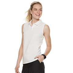 979feb06 Women's Nike Dri-FIT Sleeveless Golf Polo