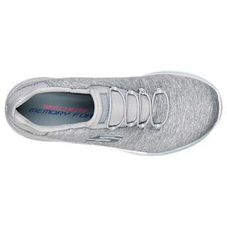 Details about Skechers Women's Dynamight Break Through Bungee Lace Sneaker