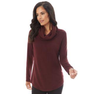 Women's Apt. 9® Fuzzy Cowlneck Sweater