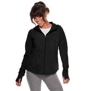 Petite Tek Gear® Microfleece Hooded Jacket
