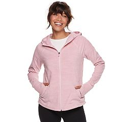 Petite Tek Gear® Microfleece Hooded Jacket