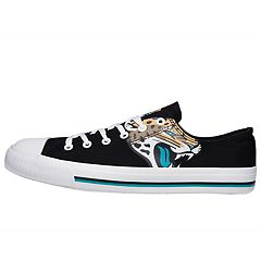 Men's Jacksonville Jaguars Low-Top Canvas Shoes