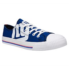 Men's New York Giants Team Logo Canvas Shoes