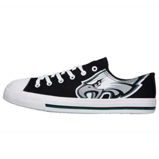 Men's Philadelphia Eagles Low-Top Canvas Shoes