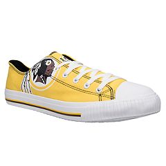 Men's Washington Redskins Team Logo Canvas Shoes