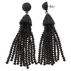 Simply Vera Vera Wang Beaded Tassel Earrings
