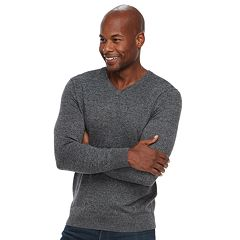 Men's Croft & Barrow® Classic-Fit 12gg V-Neck Sweater