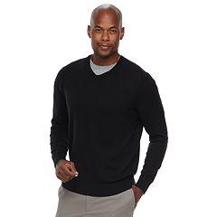Men's Croft & Barrow® Classic-Fit 12gg V-Neck Sweater