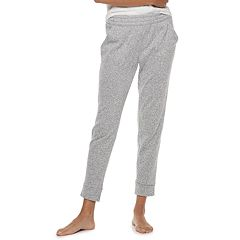 Women's SONOMA Goods for Life™ Split Cuff Fleece Jogger Pajama Pants