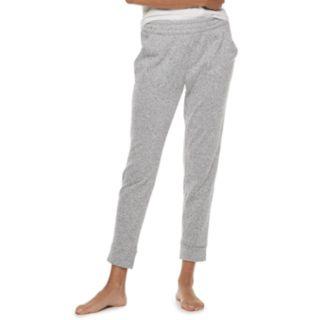 Women's SONOMA Goods for Life? Split Cuff Fleece Jogger Pajama Pants