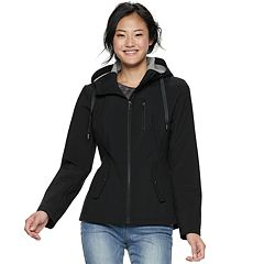Juniors' Sebby Hooded Softshell Anorak Jacket