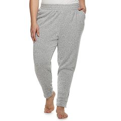 Plus Size SONOMA Goods for Life™ Split Cuff Fleece Banded Bottom Pajama  Pants c296af4a9