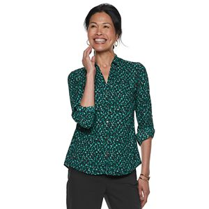 a20204400afa Women s Apt. 9® Structured Essential Button-Down Shirt
