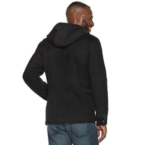 Men's Marc Anthony Sherpa-Lined Hooded Utility Jacket