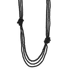 Simply Vera Vera Wang Knotted Long Multi Strand Necklace