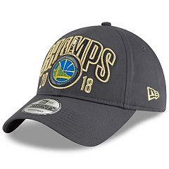Adult New Era Golden State Warriors 2018 NBA Finals Champions 9TWENTY Adjustable Cap