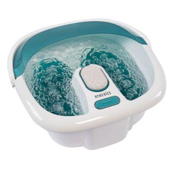 Homedics Bubble Spa Elite Footbath with Heat Boost Power