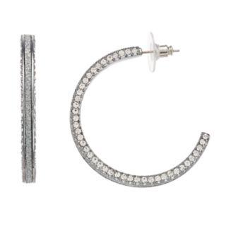 Simply Vera Vera Wang Simulated Stone Hoop Earrings