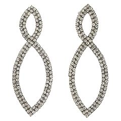 Simply Vera Vera Wang Simulated Stone Navette Drop Earrings
