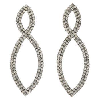 Simply Vera Vera Wang Simulated Stone Navette Drop Earrings