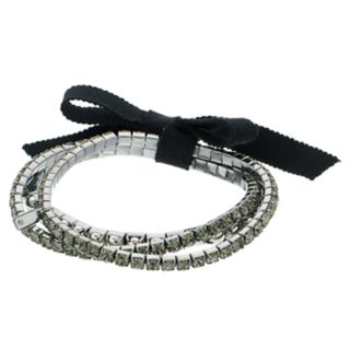 Simply Vera Vera Wang Simulated Crystal Stretch Bracelet Set