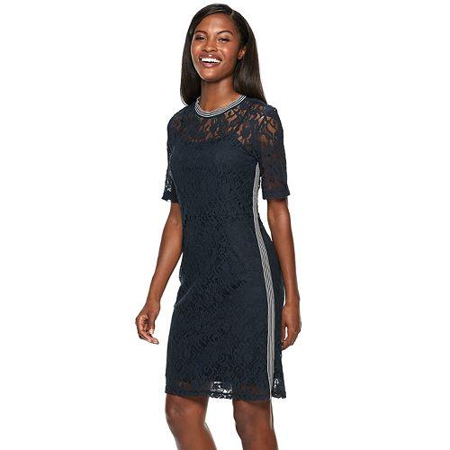 Women's Hope & Harlow Lace Athleasure Dress