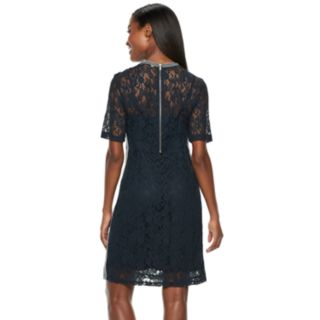 Women's Hope & Harlow Lace Athleasure Dress