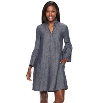 Women's Hope & Harlow Bell Sleeve Dress