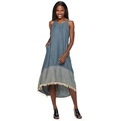 Women's Hope & Harlow Fringe Maxi Dress