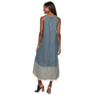 Women's Hope & Harlow Fringe Maxi Dress