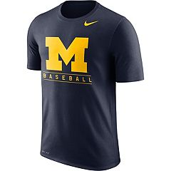 Men's Nike Michigan Wolverines Baseball Legend Team Issue Tee