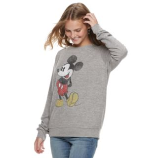 Disney's Mickey Mouse Juniors' Classic Graphic Long Sleeve Top