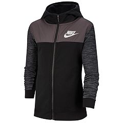 1fe951f9cee2 Boys 8-20 Nike Colorblock Full-Zip Hoodie. Gunsmoke White Black White