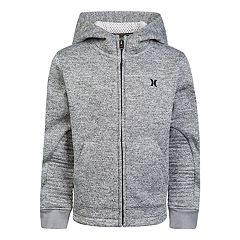 Boys 8-20 Hurley One & Only Full-Zip Hoodie