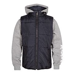 Boys 8-20 Hurley Puffer Fleece Jacket