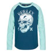 Boys 8-20 Hurley Pirate Raglan Tee